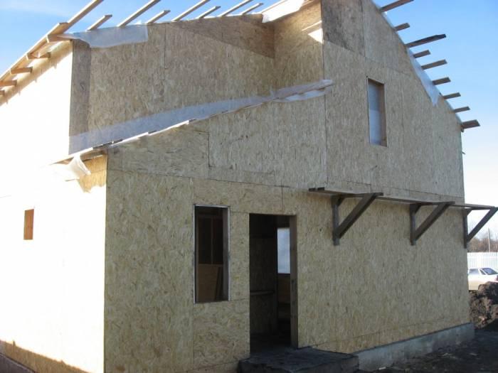 каркасно щитовой дом своими руками пошаговая инструкция