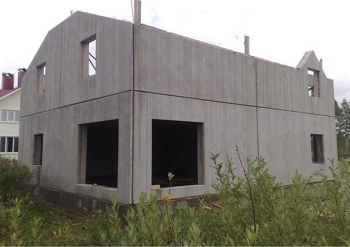 панельный дом