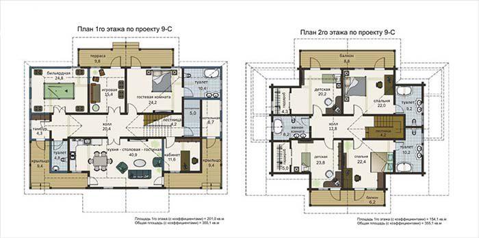 проекты комбинированных домов в стиле шале