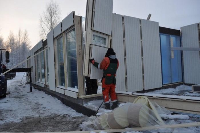 скандинавская технология строительства каркасного дома