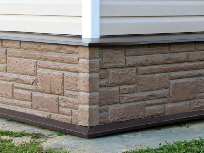 облицовка фундамента дома какой материал лучше фото