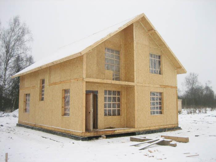 проекты каркасных домов с террасой