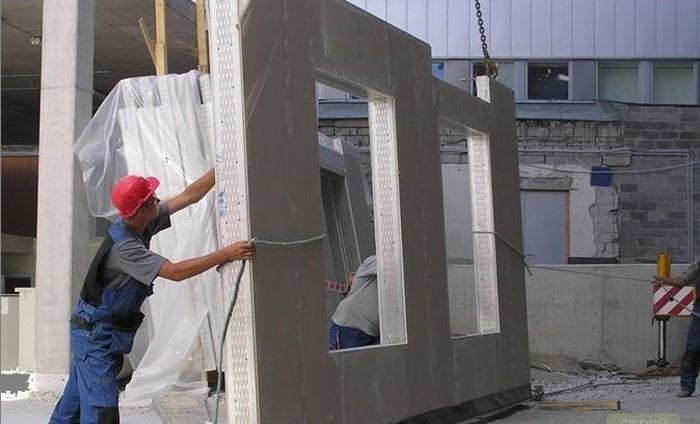 технология строительства панельных домов