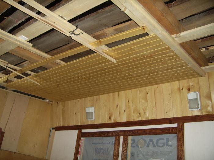 чем обшить деревянный дом изнутри
