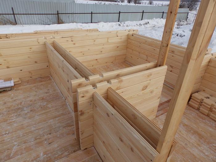 строительство дома из бруса отзывы