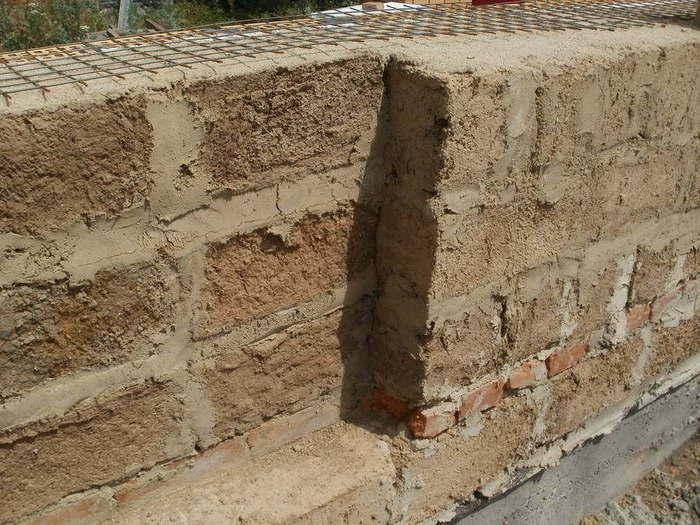 глинобитные дома