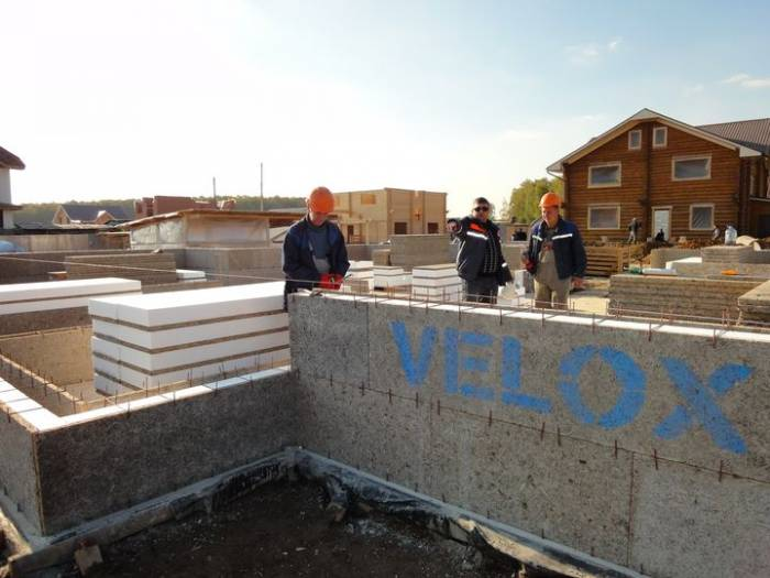 строительство домов velox
