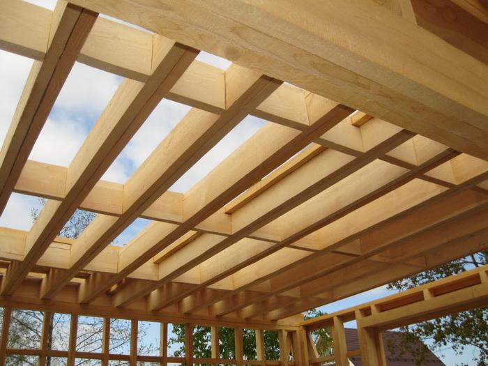 деревянные балки перекрытия размеры пролет 6 метров