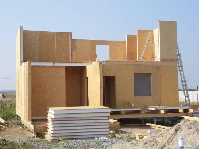 каркасный дом или сип панели