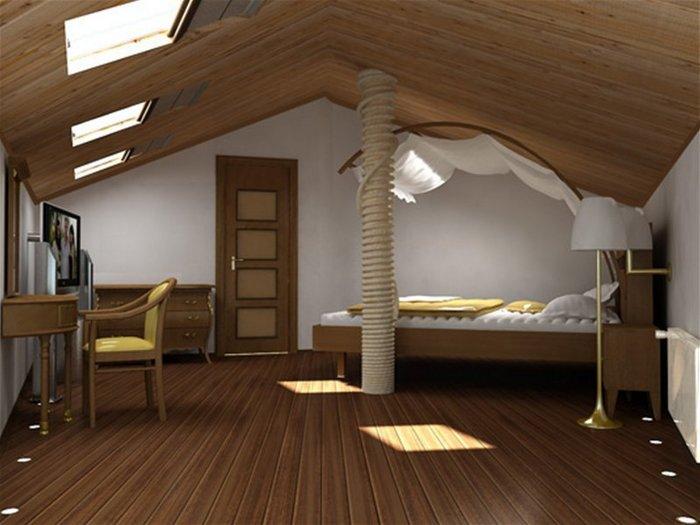 проекты домов и коттеджей с мансардой