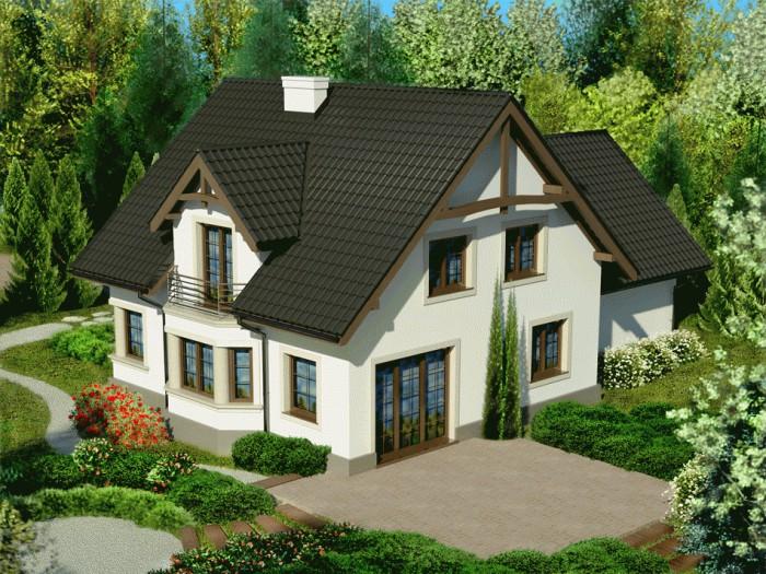 фото двухэтажных домов