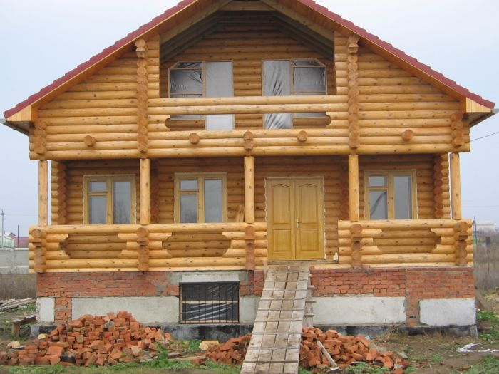 проекты домов эконом класса из бруса