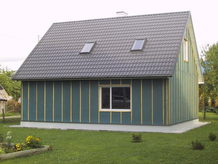 каркасный дом из цсп