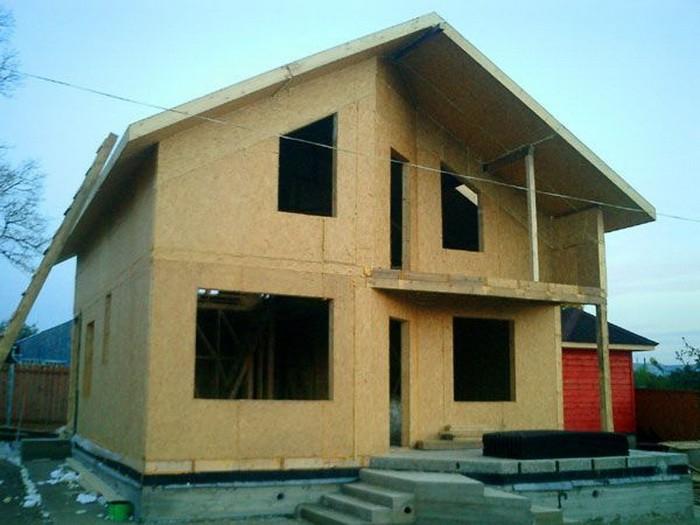 сип панели или каркасный дом