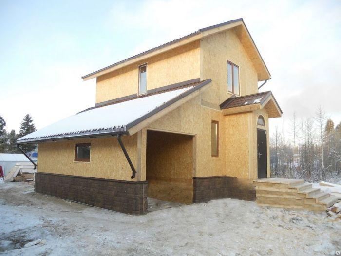 строительство каркасных домов зимой