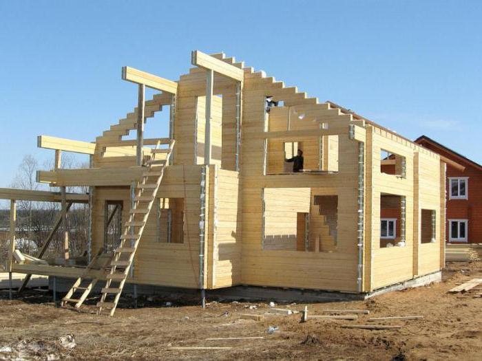 строительство деревянных домов технология