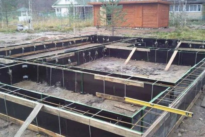 строительство дома из арболита своими руками видео