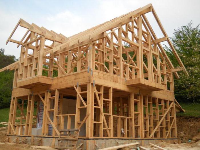 дом из оцилиндрованного бревна или профилированного бруса