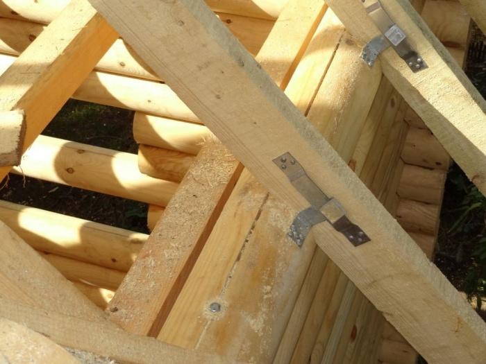 этапы строительства дома из бревна
