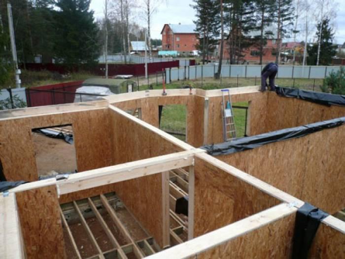 проекты каркасных домов по ДОК технологии