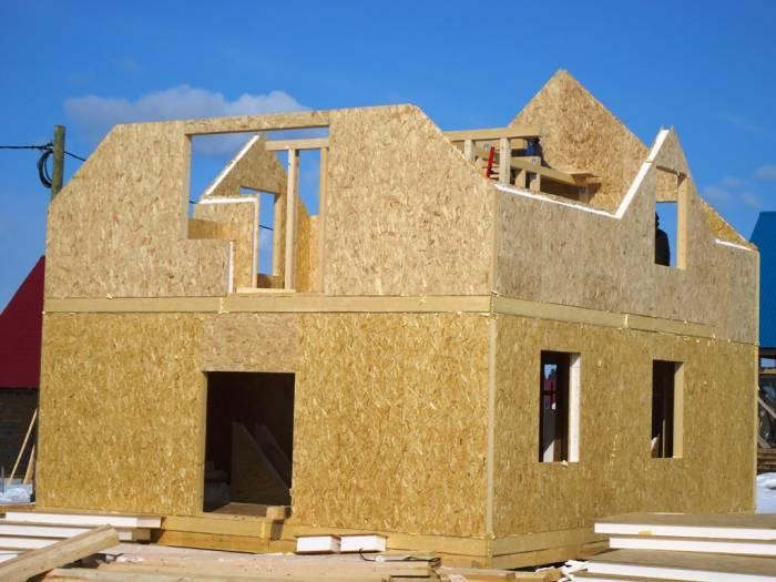 как построить одноэтажный дом