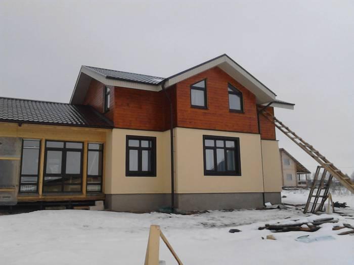 строительство каркасных домов видео
