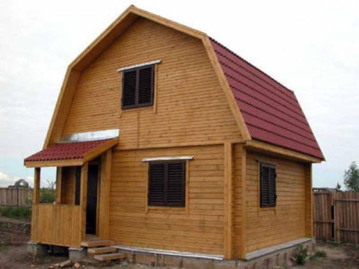 построить дешево дом из бруса