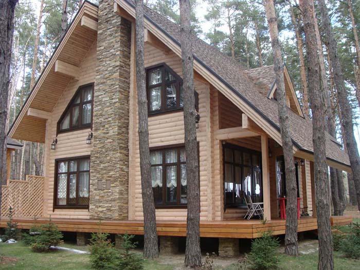 проекты дом с мансардой