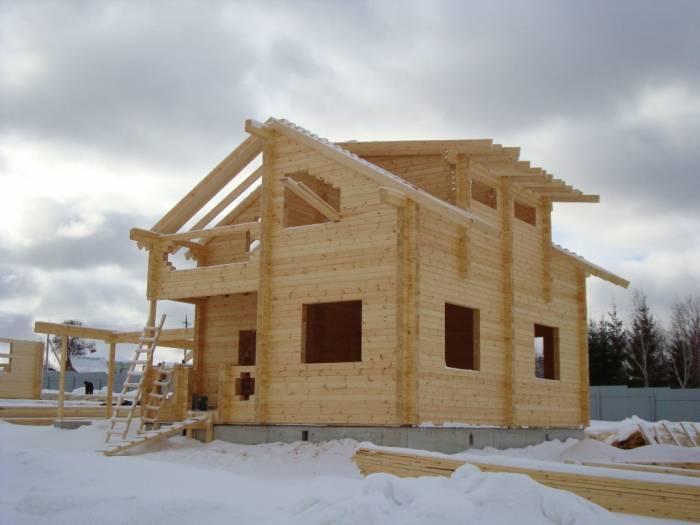 как построить красивый одноэтажный дом