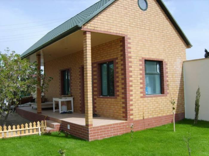 фасадная клинкерная плитка облицовки дома