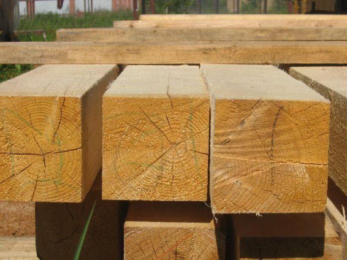 какой толщины брус лучше для строительства дома