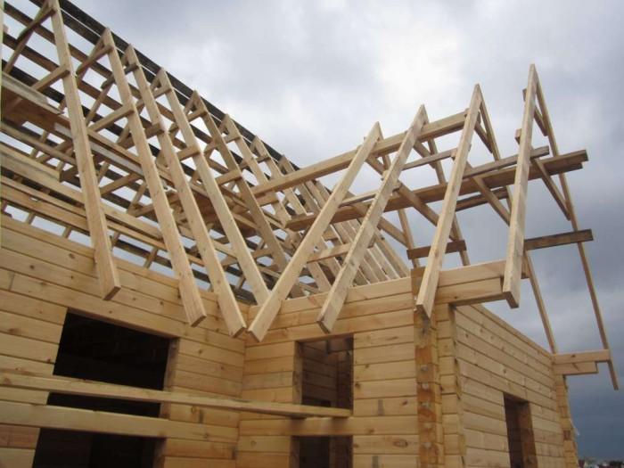 технология постройки дома из бруса