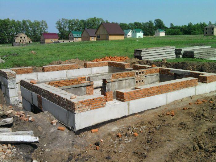 постройка цокольного этажа видео