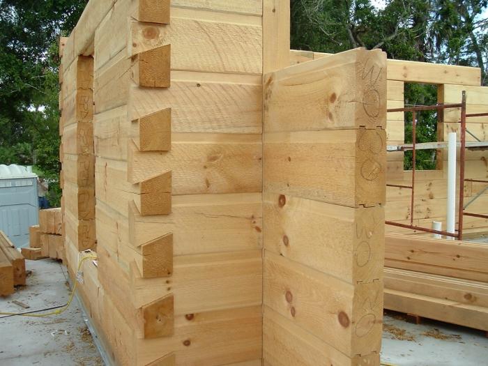 размеры профилированного бруса для строительства дома