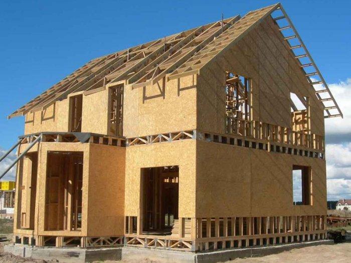 построить дом из металлоконструкций