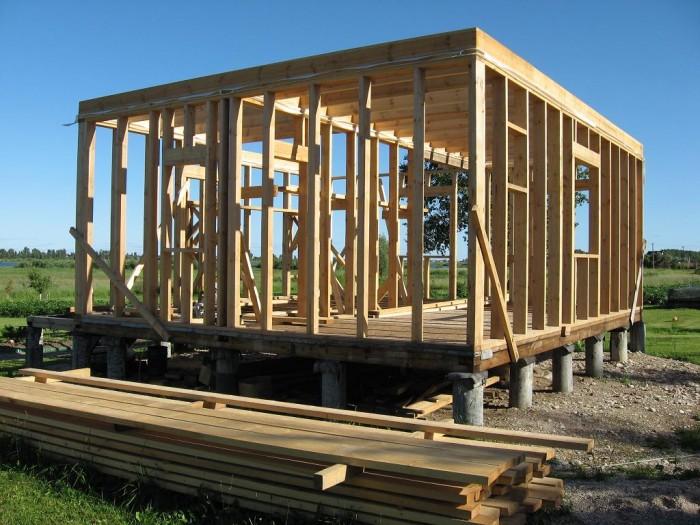 каркасная технология строительства домов