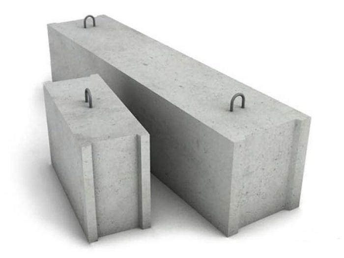 Блоки фбс какая марка бетона