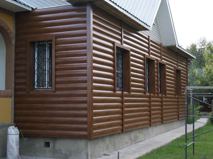 металлический блок хаус