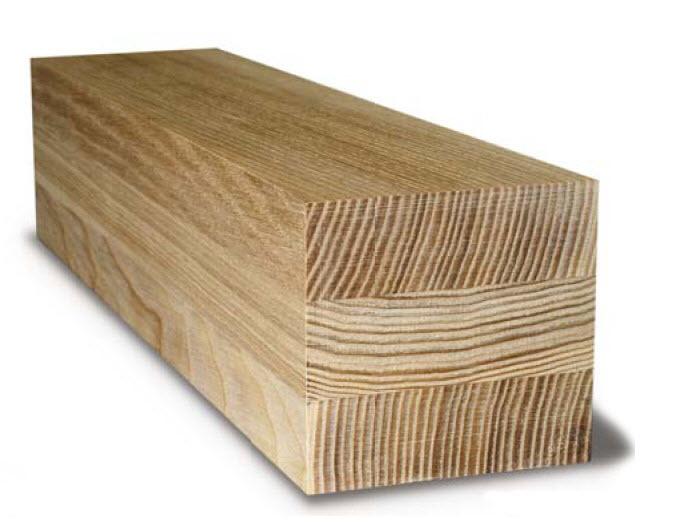 клееный брус из кедра или лиственницы