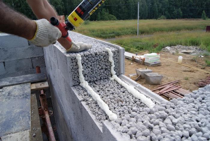 кладка керамзитобетонных блоков цена за работу