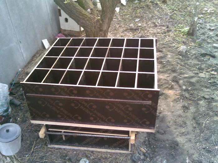 изготовление керамзитобетонных блоков