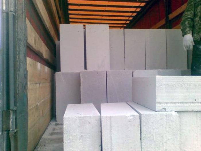 пенобетонные блоки размеры