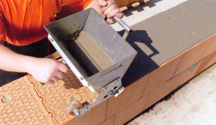 кладка керамических блоков видео