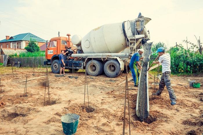 технология бетонирования буронабивных свай