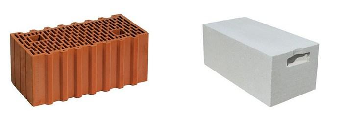 газосиликат или керамический блок