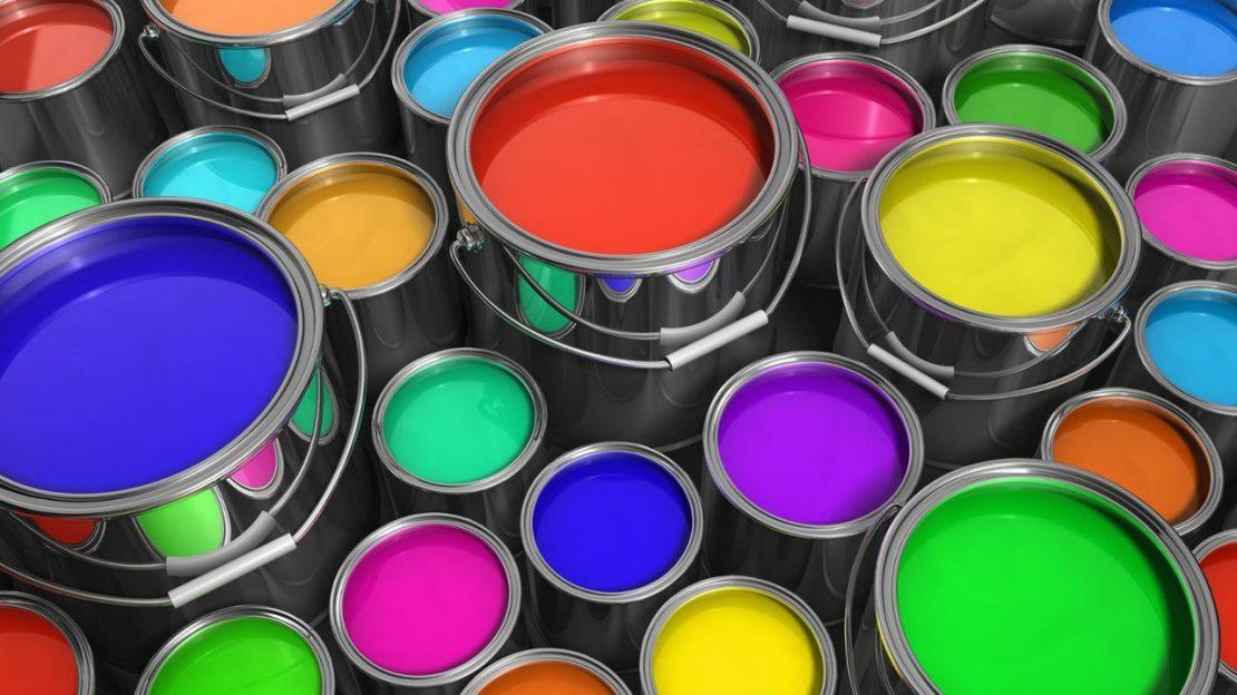 виды краски