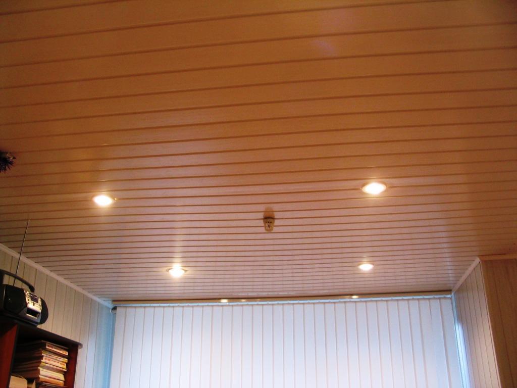 вагонка для отделки потолка