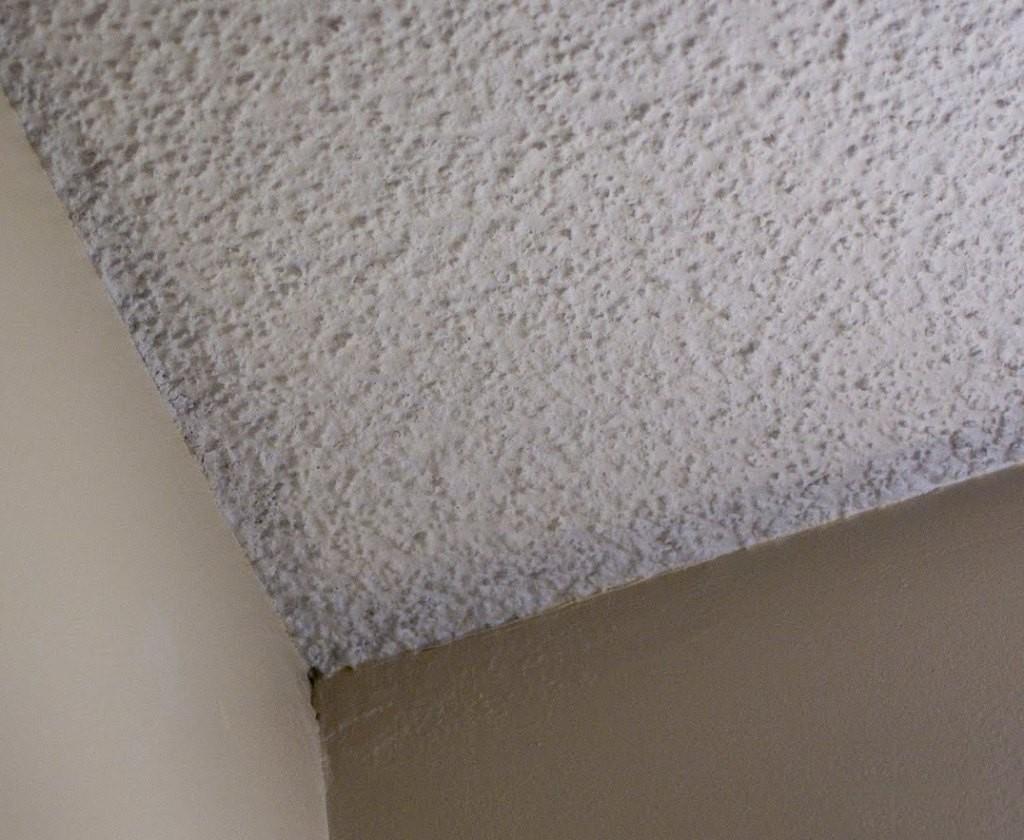 фактурная покраска потолка