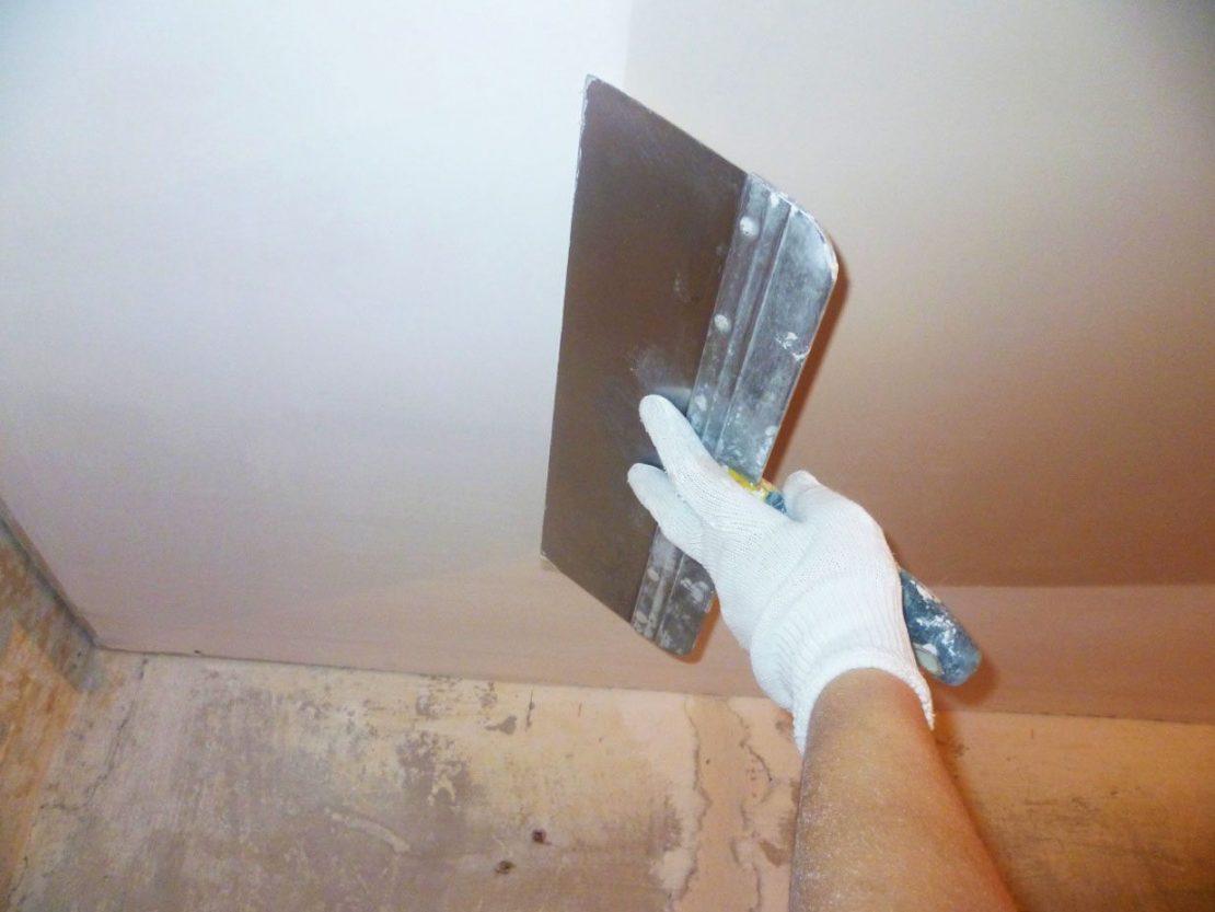 финишное выравнивание потолка
