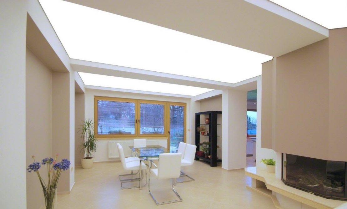прозрачный потолок